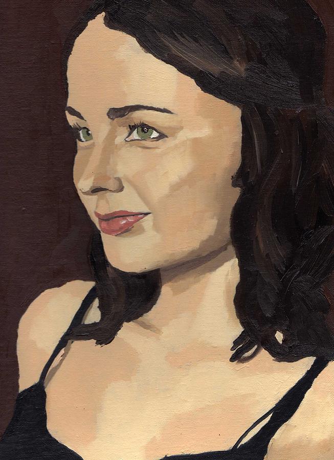 Portrait of Solomia by Stephen Panoushek