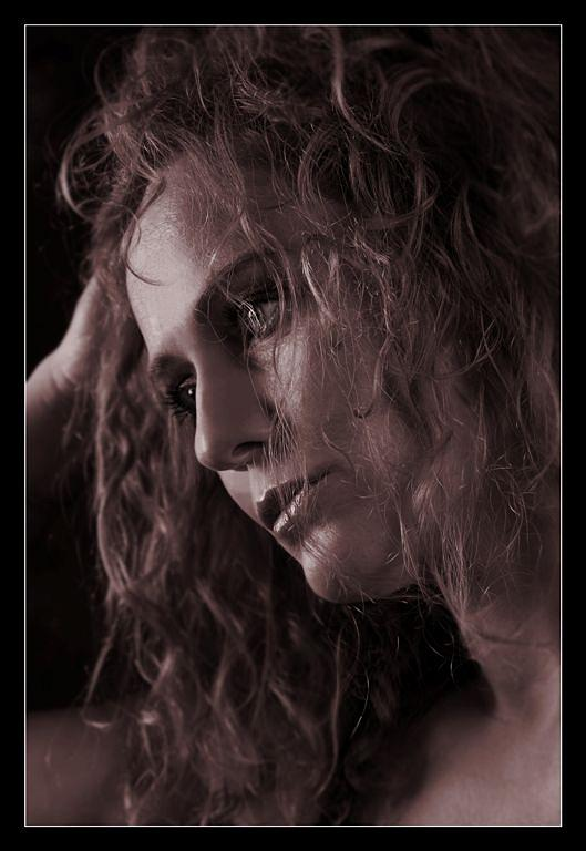 Portrait Of Woman Photograph - Portrait Of Woman by Petr Nikl