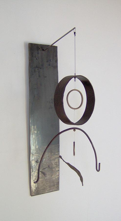Mobiles Sculpture - Post Industrial Dream Catcher by Ber Lazarus