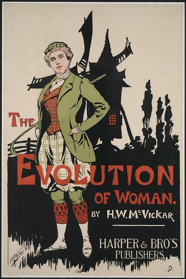 History Photograph - Poster Advertising The Evolution Of by Everett