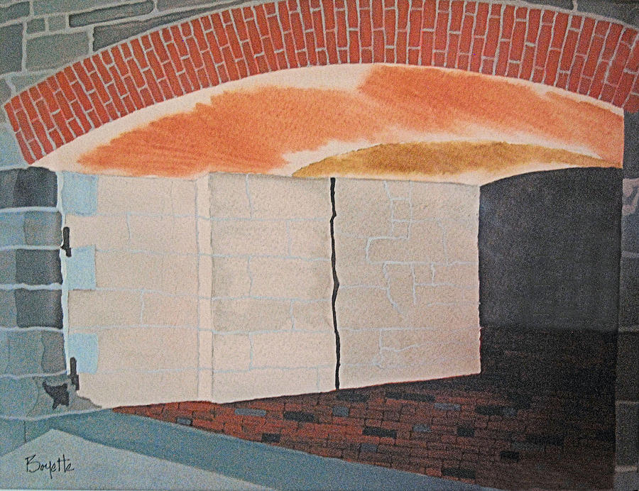 Postern Gate at Fort Monroe by Robert Boyette