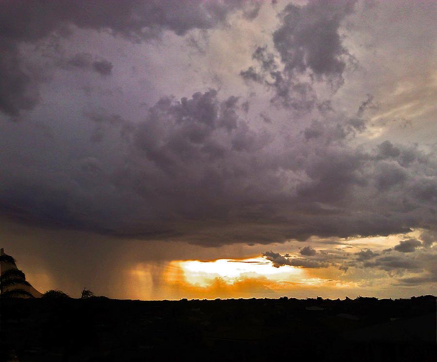 Cloud Photograph - Power by Kelly Jones