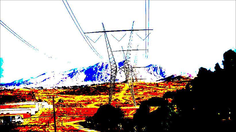 Power  Lines  Digital Art by Ken Lafler