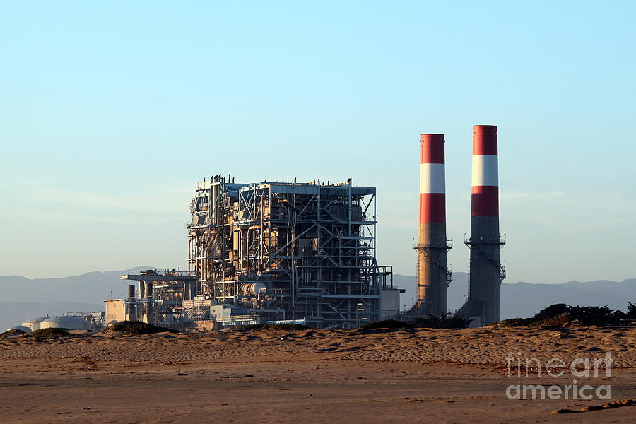 Industry Photograph - Power Station by Henrik Lehnerer