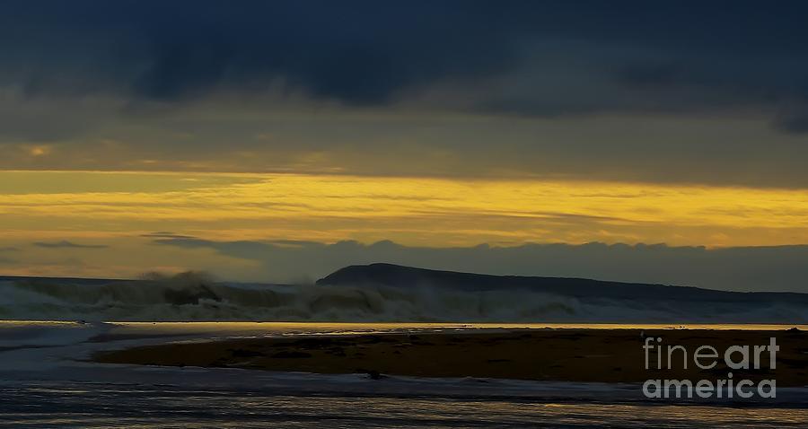 Creative Digital Art - Powlett River On A Stormy Morning by Blair Stuart