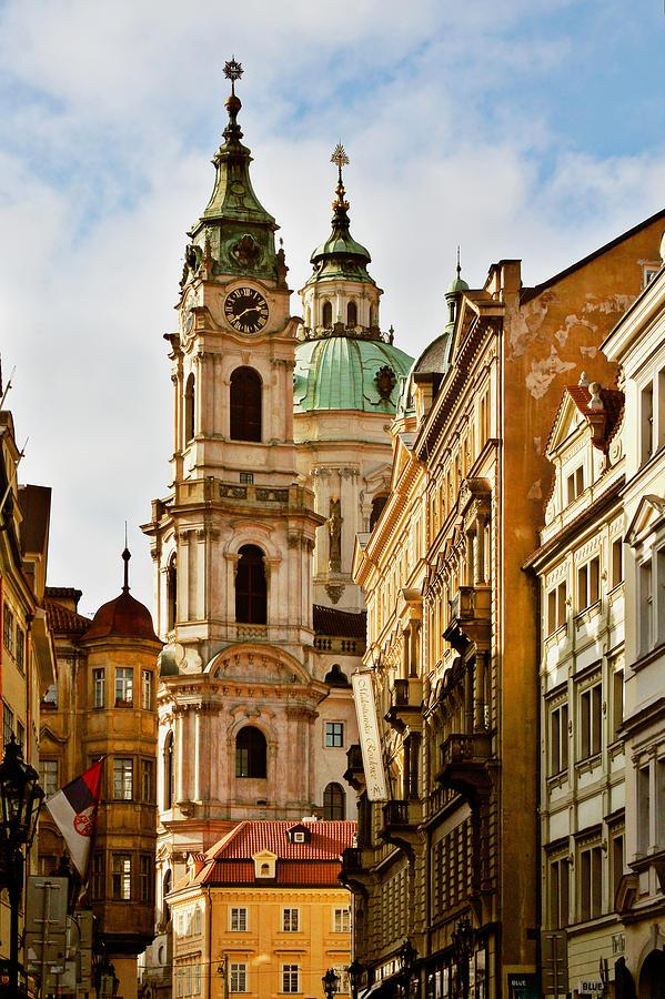 St Nicholas Church Photograph - Prague - St. Nicholas Church Lesser Town by Christine Till