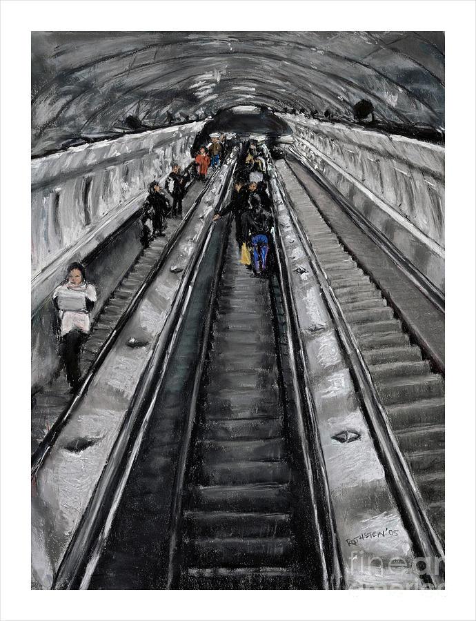 Prague Pastel - Prague Underground by Barry Rothstein