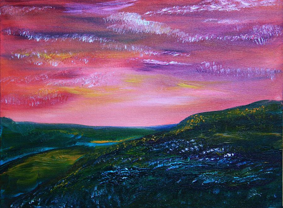 Prairie Painting - Prairie Lights by James Bryron Love