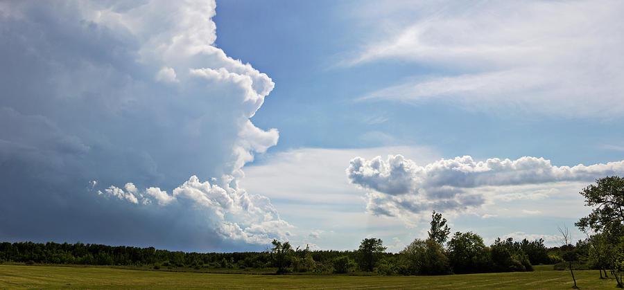 Landscape Photograph - Prairie Storm by Karen Dawson