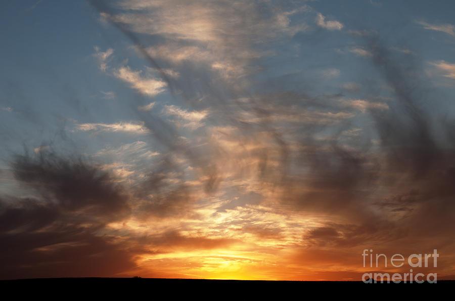 Prairie Sunset Photograph - Prairie Sunset No1 by Art Whitton