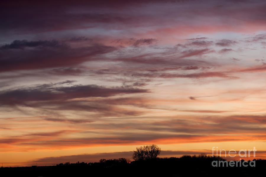 Prairie Sunset Photograph - Prairie Sunset No3 by Art Whitton