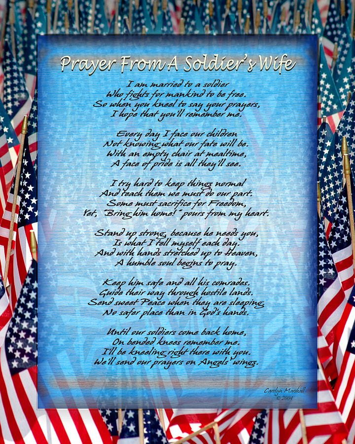 Prayer From A Soldiers Wife