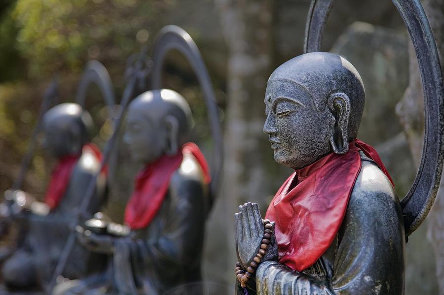 Jizo Photograph - Prayer by Karen Walzer