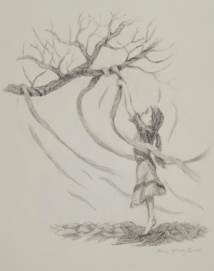 Prayer Drawing - Prayer Ribbons by Bruce Zboray