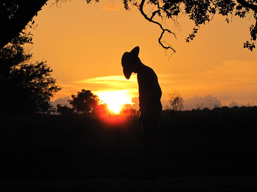 Landscape Photograph - Praying by Barry Moore