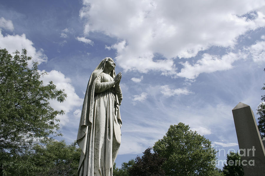 Assumption Photograph - Praying In The Sky.02 by John Turek