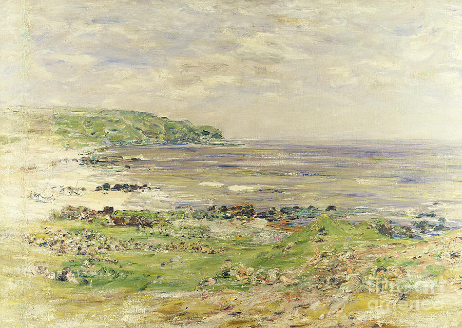 Preaching Of St  Columba Iona Inner Hebridies by William McTaggart