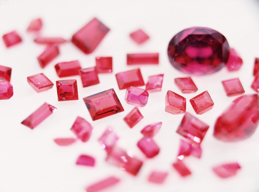 Gemstones Photograph - Precious Gemstones by Lawrence Lawry