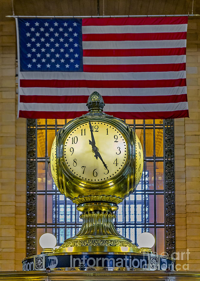 Clock Photograph - Precious Time And Colors by Susan Candelario