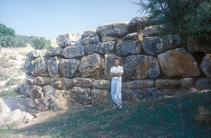 Archaeological Site Photograph - Prehistoric Bridge by Andonis Katanos