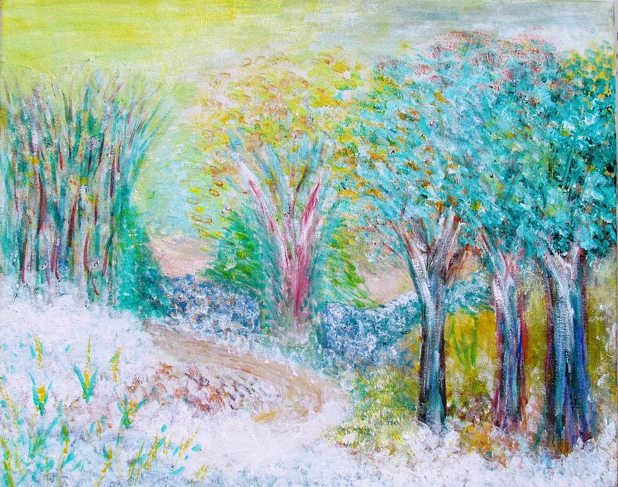 Landscape Painting - Prelude by Edie Schmoll