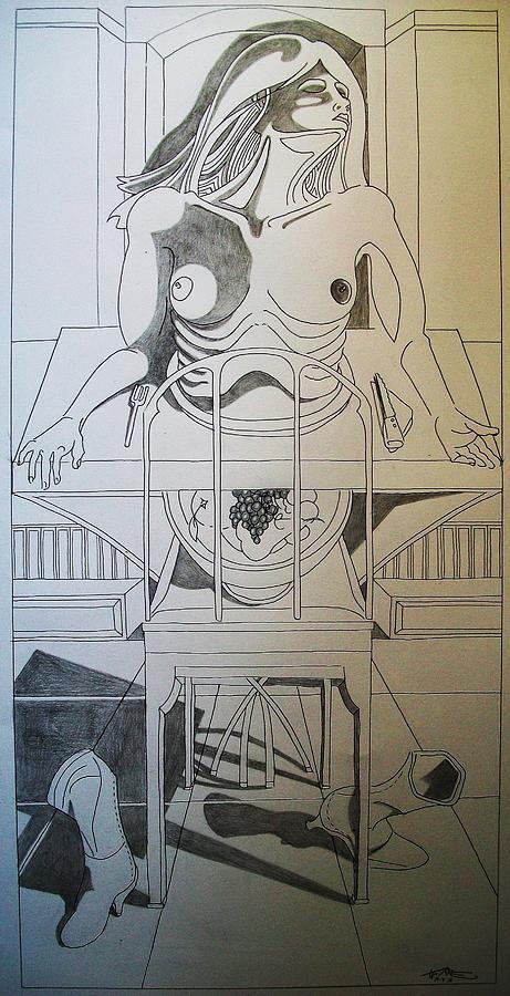 Prendere E Dare Drawing by Torre Mariano