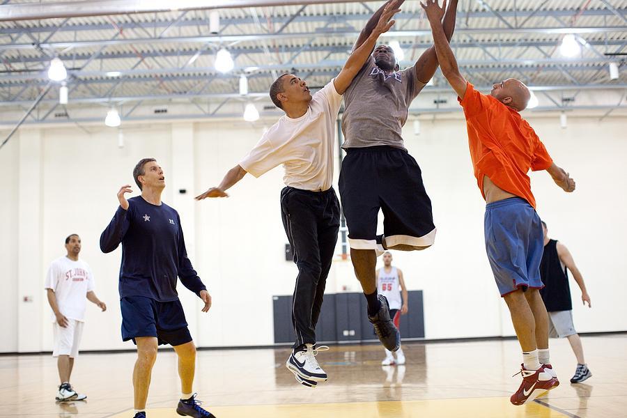 History Photograph - President Barack Obama Attempts by Everett