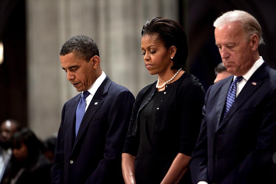 History Photograph - President Barack Obama First Lady by Everett