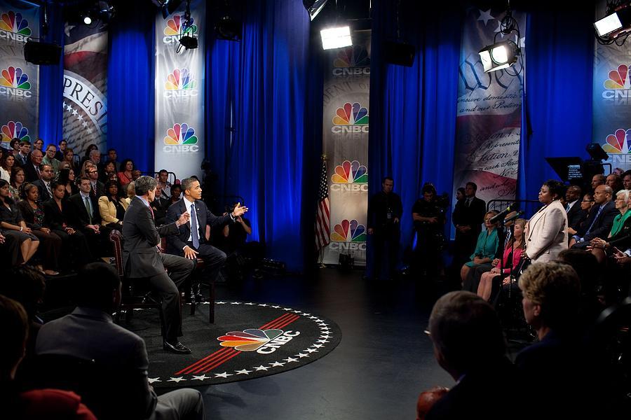History Photograph - President Barack Obama Participates by Everett