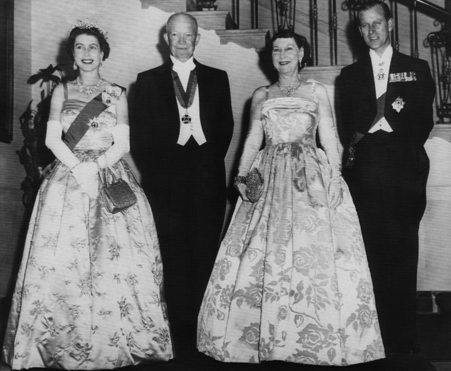 1950s Candids Photograph - President Dwight D. Eisenhower by Everett