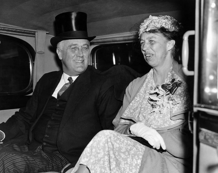 1930s Photograph - President Franklin D. Roosevelt, First by Everett