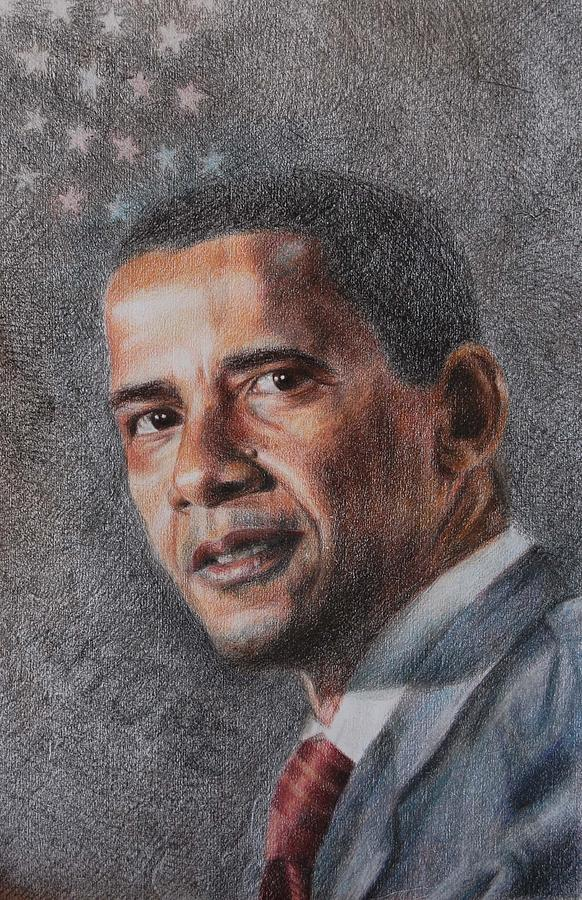 President Drawing - President by Joanna Gates