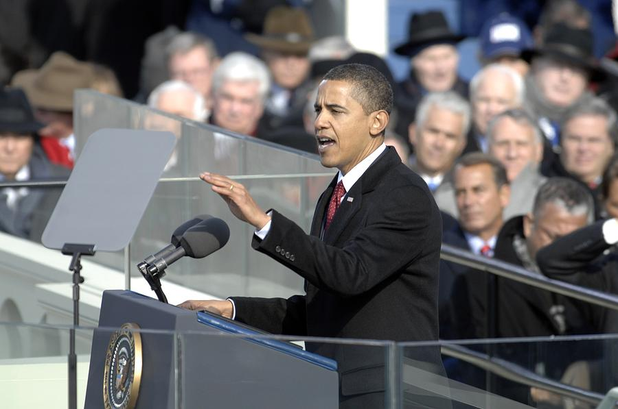 History Photograph - President Obama Called For A New Era by Everett