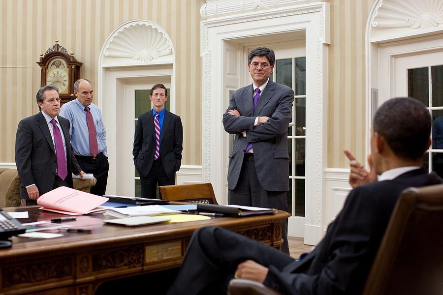 History Photograph - President Obama Talking by Everett