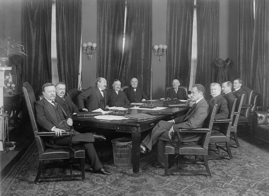 History Photograph - President Theodore Roosevelt, Seated by Everett