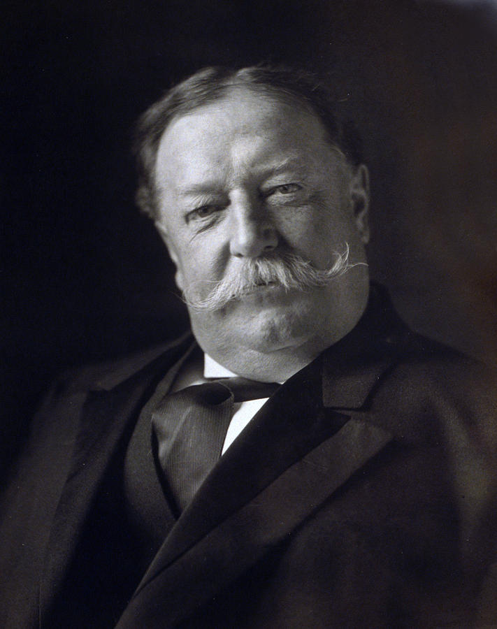 william Howard Taft  Photograph - President William Howard Taft by International  Images