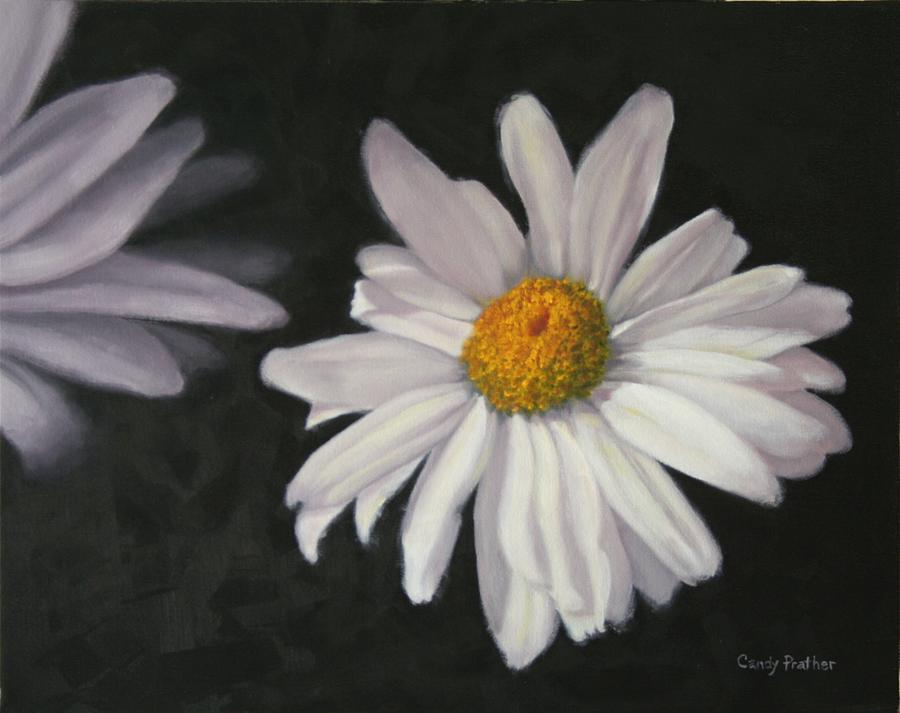 Daisy Painting - Pretty Daisy by Candy Prather