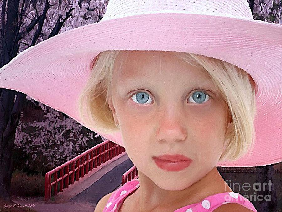 Pink Mixed Media - Pretty In Pink by Jerry L Barrett