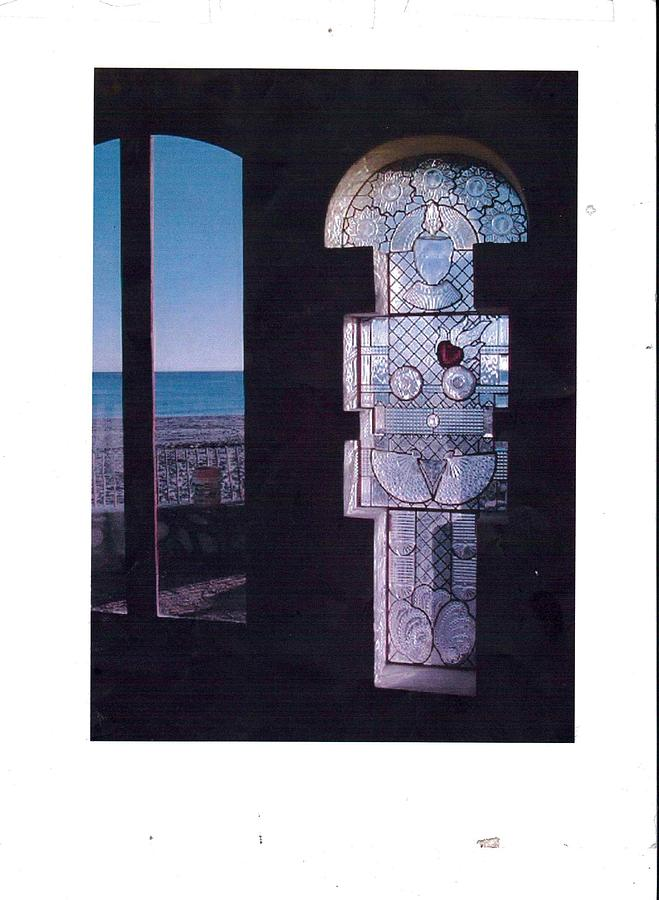 Glass Antiques Glass Art - Priestess by Laura Herrick
