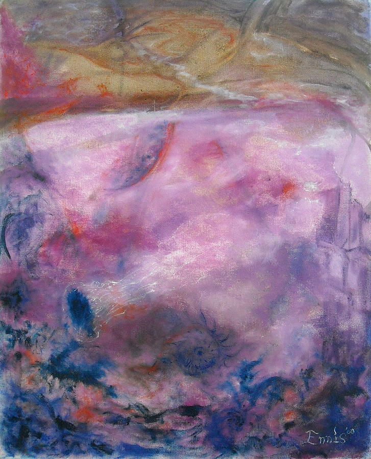 Ennis Painting - Primal Gnostic by Christophe Ennis