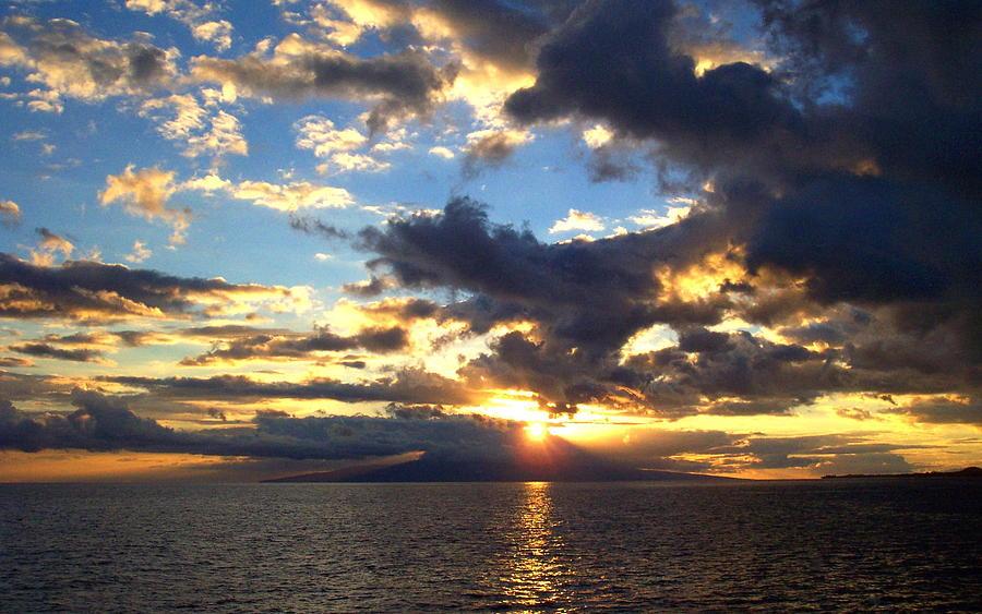 Sunset Photograph - Primal Sun by Sean McDaniel