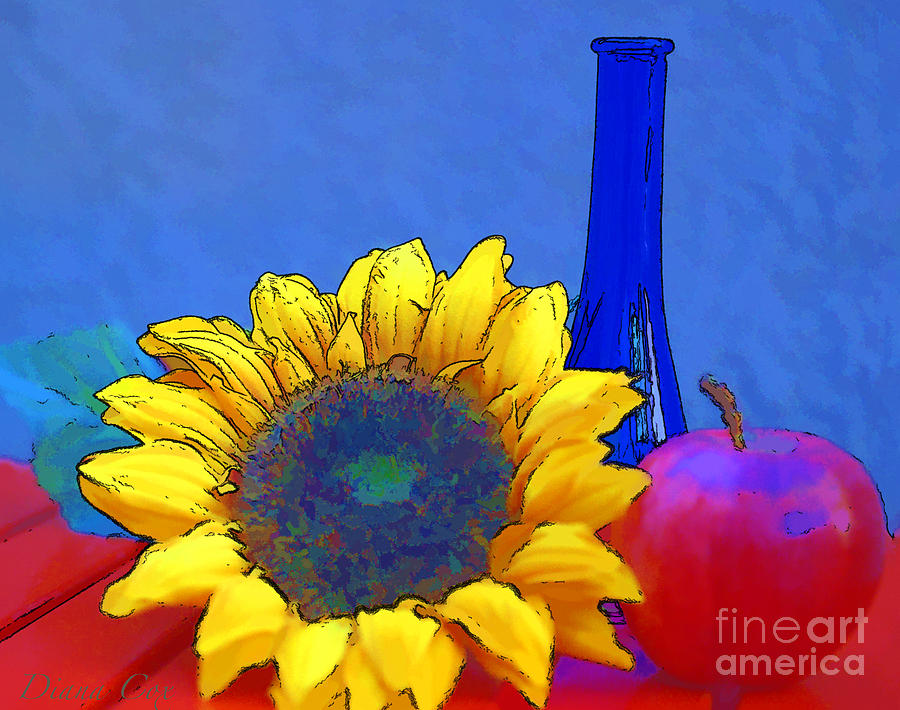 diana cox digital art primary colors by diana cox - Primary Color Pictures