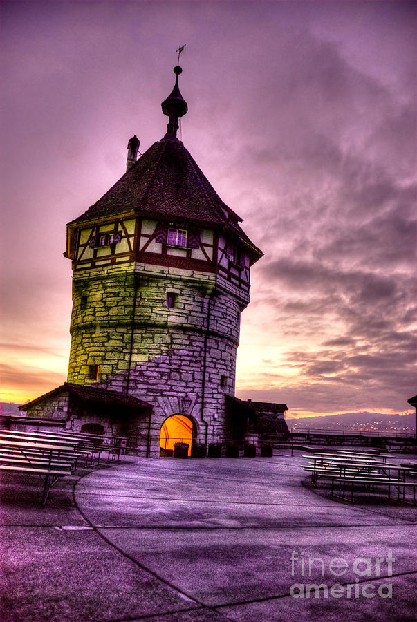 Switzerland Photograph - Princes Tower by Syed Aqueel