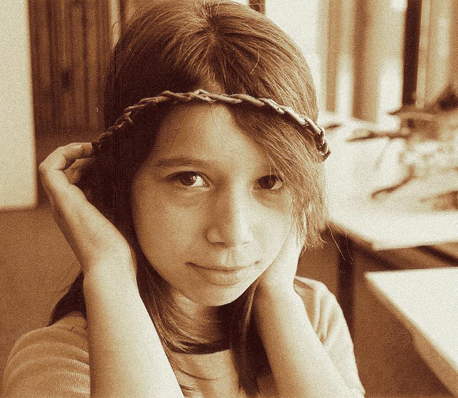 Portrait Photograph - Princess by Ion vincent DAnu