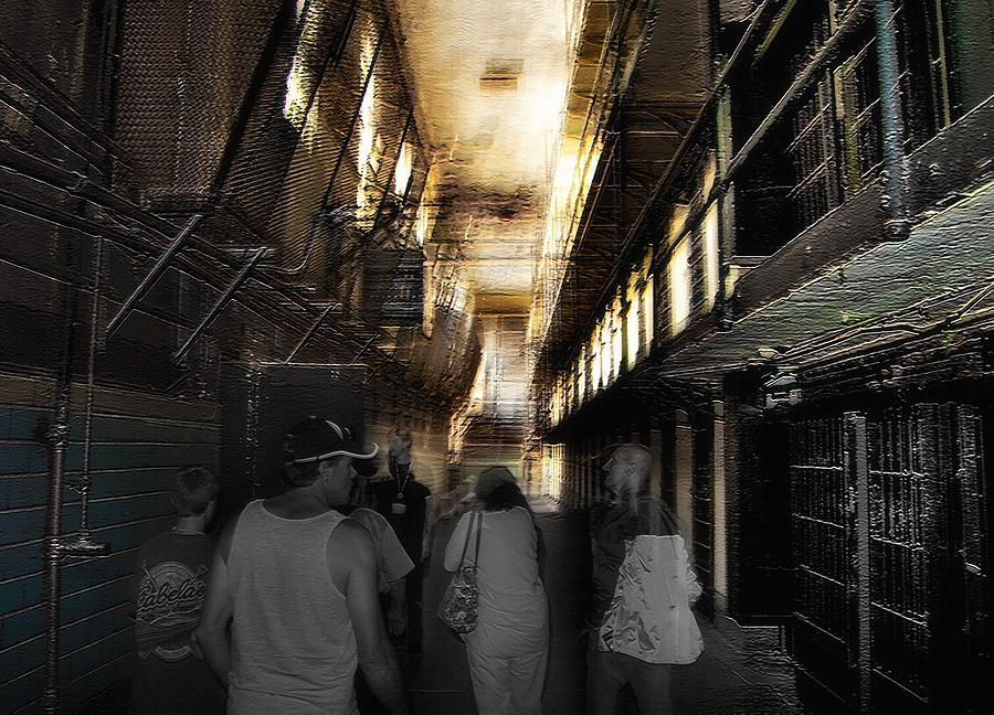 Prisons Photograph - Prison Tour 1 - Wyoming Frontier Prison by Steve Ohlsen