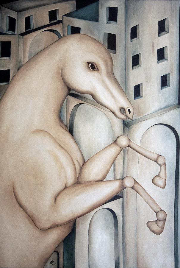 Prisoner Painting - Prisoner 2010  by Simona  Mereu