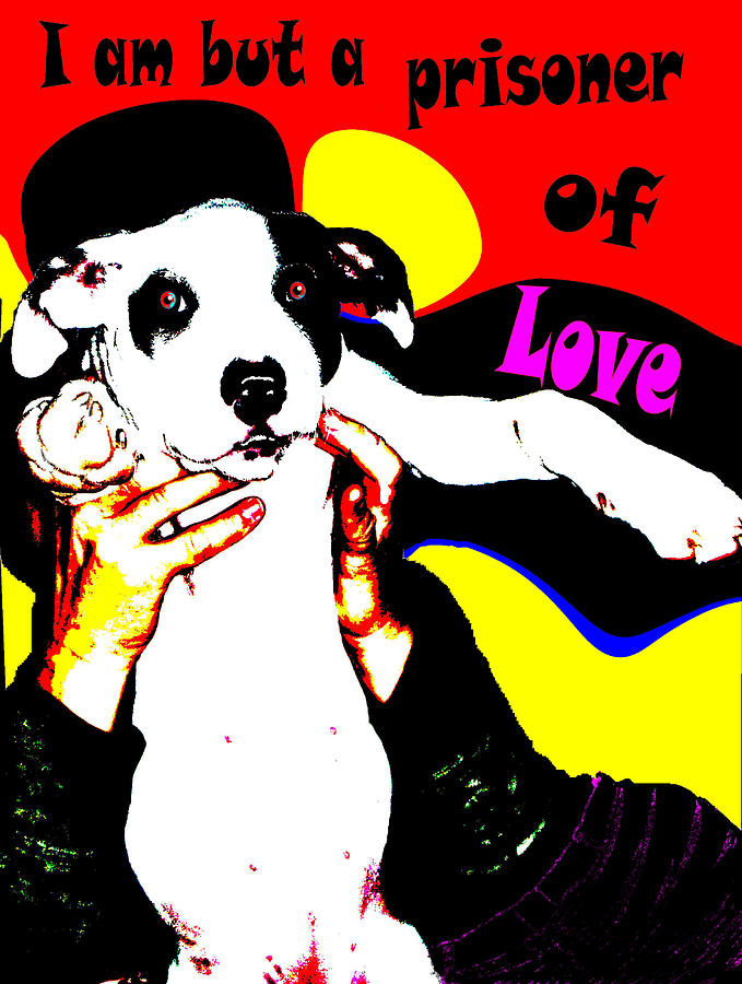 Dog Painting - Prisoner Of Love by Jann Paxton