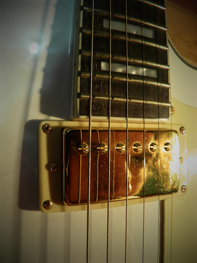 Guitar Photograph - Prisoner Of Rock n Roll by Alexandre Lafreniere