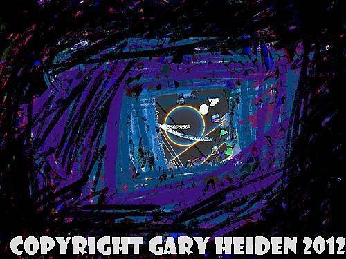 Cosmic Painting - Prisoner Of Space by Gary Heiden