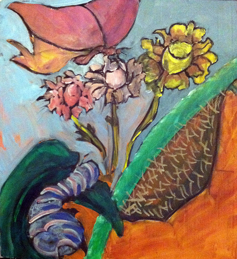 Butterfly Painting - Process Of Metamorphosis by Bethany Stanko